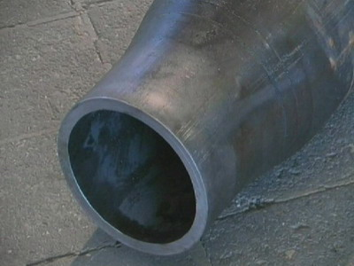 Stamping pipe fittings