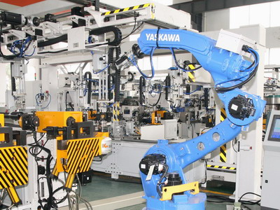Tube with Flange Robot Production Line